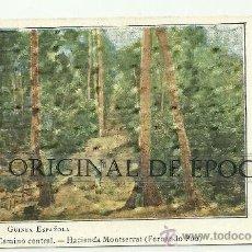 Postales: (PS-21360)POSTAL DE GUINEA ESPAÑOLA(FERNANDO POO)-CAMINO CENTRAL.HACIENDA MONTSERRAT. Lote 24617270