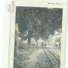 Postales: (PS-21350)POSTAL DE GUINEA ESPAÑOLA(FERNANDO POO)-CAMINO DE SAN CARLOS. Lote 24617651