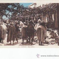 Postales: MARRUECOS ESPAÑOL: ZOCO KEBNA DE TETUAN. BONITA POSTAL SIN CIRCULAR DE PHOTOTYPIE ETBTS PHOTO ALBERT. Lote 26619129