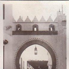 Postales: TETUAN (MARRUECOS), ARCO DE LA CALLE DEL COMERCIO. Lote 26888686