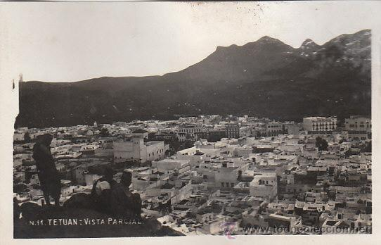 TETUAN (MARRUECOS), VISTA (Postales - Postales Temáticas - Ex Colonias y Protectorado Español)