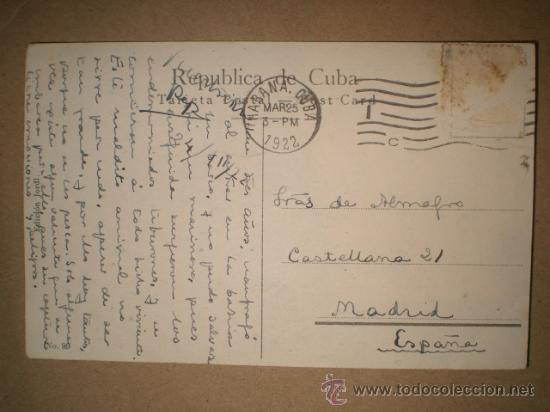 Postales: HABANA..- PAISAJE CUBANO. - Foto 2 - 27178332