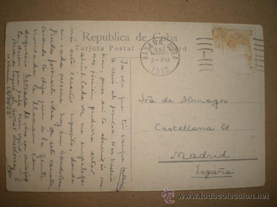 Postales: HABANA..- EL MORRO EN DÍA TEMPESTUOSO. - Foto 2 - 27178766