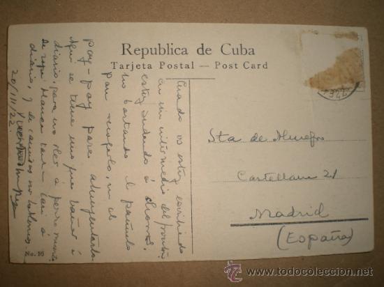 Postales: HABANA..- PARQUE DE COLÓN.. - Foto 2 - 27178787