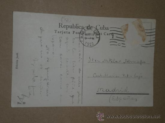 Postales: HABANA..- CAMPO DE PIÑA. - Foto 3 - 27178855