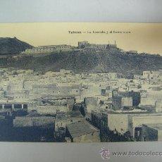 Postales: ANTIGUA POSTAL DE TETUAN - LA ALCAZABA Y EL BARRIO MORO - ED. M. ARRIBAS. Lote 28344968