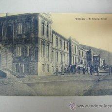 Postales: ANTIGUA POSTAL DE TETUAN - EL HOSPITAL MILITAR - ED. M. ARRIBAS. Lote 28344977