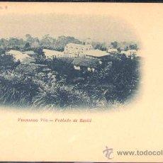 Postales: FERNANDO PÓO.- POBLADO DE BASILÉ. Lote 28121089