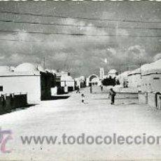 Postales: AAIUN (SAHARA ESPAÑOL).- AVENIDA DEL EJÉRCITO.- EDICIONES ARRIBAS Nº 408.- FOTOGRÁFICA. Lote 28443455