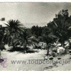 Postales: AAIUN (SAHARA ESPAÑOL).- LA AGUADA Y EL MOLINO.- EDICIONES GUERRERO Nº 445.- FOTOGRÁFICA. Lote 30444014