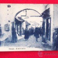 Postales: TETUAN - EL BARRIO HEBREO. Lote 28856233
