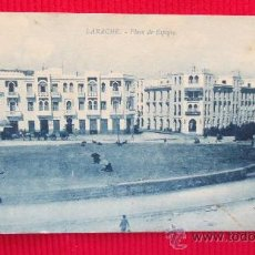 Cartes Postales: LARACHE - PLAZA ESPAÑA. Lote 28861411