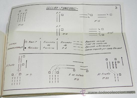 Postales: CUADERNILLO MEHAL-LA JALIFIANA DEL QUERT NUM. 6, INTRUCCION TACTICA, 16 DE DICIEMBRE DE 1946, 76 PAG - Foto 2 - 30159381
