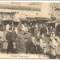 Postales: TETUAN - EL ZOCO DEL PAN - SIN CIRCULAR - MANUEL BARREIRO EDITOR, SEVILLA - UNION POSTAL UNIVERSAL. Lote 30307461