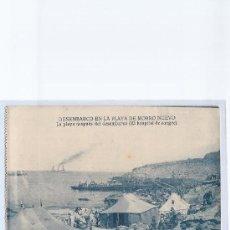 Postales: DESEMBARCO EN ALHUCEMAS. PLAYA DE MORRO NUEVO.. Lote 30366085