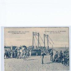 Postales: DESEMBARCO EN ALHUCEMAS. PLAYA DE MORRO NUEVO.. Lote 30366251
