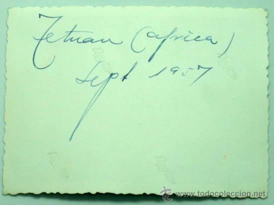 Postales: Foto Tetuán Septiembre 1957 10 cm x 7 cm - Foto 2 - 30613115