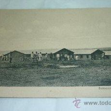 Postales: BARRACONES DE INFANTERIA. (MARRUECOS). POSTAL ALCÁZR. AÑOS 1920S. CIRCULADA. Lote 30836228