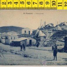 Postales: TARJETA POSTAL DE EL FONDAK TETUAN MARRUECOS ARABE ARABES MILITAR AFRICA ESPAÑOLA. Lote 30909415