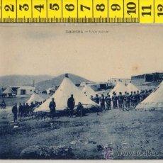 Postales: TARJETA POSTAL DE LAUCIEN VISTA CAMPAMENTO TETUAN MARRUECOS ARABE ARABES MILITAR AFRICA ESPAÑOLA. Lote 30909470