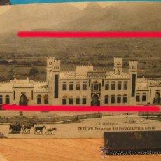 Postales: + TETUAN ESTACION DE FERROCARRIL A CEUTA. ANTIGUA POSTAL TREN RENFE MARRUECOS. Lote 30991697