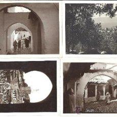 Postales: PS1835 LOTE DE 4 POSTALES FOTOGRÁFICAS DE XAUEN. ANIMADAS. SIN CIRCULAR. Lote 31951524