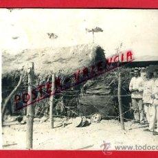 Postales: POSTAL GUERRA DE MARRUECOS , FOTOGRAFICA , LA CIGUEÑAS DEL T ZENIS , ORIGINAL, P70992. Lote 31989652