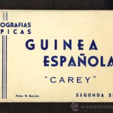 Postales: CARNET DESPLEGABLE CON 12 POSTALES DE GUINEA ESPAÑOLA. SERIE 2 (HELIOTIP. ARTIST.) (VER FOTOS ADIC.). Lote 32793558