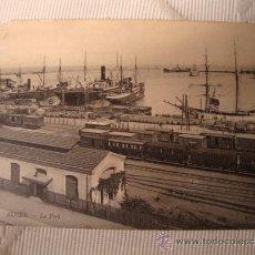 Postales: EXCELENTE TARJETA POSTAL ALGER, LE POR, EL PUERTO, BARCO BARCOS, FECHADA EN EL AÑO 1909. Lote 33091294