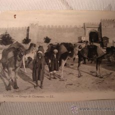 Postales: EXCELENTE TARJETA POSTAL ORIGINAL P.P.S.XX SOUSSE, Nº 86 CIRCULADA CON SELLO Y MATASELLO, AÑO 1913. Lote 33091367
