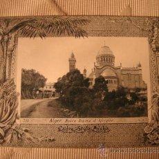 Postales: TARJETA POSTAL ORIGINAL P.P.S.XX COLECCION ARABE, ALGER ALGERIE, EDITON PHOTO I.V.S., CA. 1915. Lote 33751139