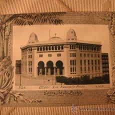 Postales: TARJETA POSTAL ORIGINAL P.P.S.XX COLECCION ARABE, ALGER ALGERIE, EDITON PHOTO I.V.S., CA. 1915. Lote 33751144