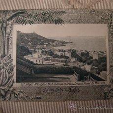 Postales: TARJETA POSTAL ORIGINAL P.P.S.XX COLECCION ARABE, ALGER ALGERIE, EDITON PHOTO I.V.S., CA. 1915. Lote 33751177