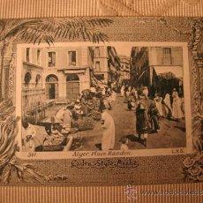 Postales: TARJETA POSTAL ORIGINAL P.P.S.XX COLECCION ARABE, ALGER ALGERIE, EDITON PHOTO I.V.S., CA. 1915. Lote 33751206