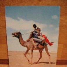 Postales: SAHARA ESPAÑOL - NOMADA - ESCRITA EN 1966 - EDITA FHILIPE MARTIN. Lote 34057313