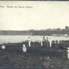 Postales: FERNANDO POO.- BAHÍA DE SANTA ISABEL. Lote 35630164