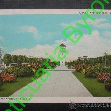Postales: HABANA. CUBA. AVENIDA CÉSPEDES. MIRAMAR. Lote 35860887