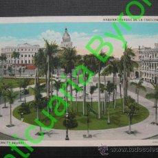 Postales: HABANA. CUBA. PARQUE DE LA FRATERNIDAD. Lote 35860989