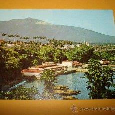Postales: ANTIGUA TARJETA POSTAL DE GUINEA ECUATORIAL MUELLE ANTIGUO STA. ISABEL. Lote 35988601