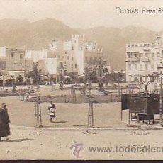 Postales: POSTAL FOTOGRAFICA TETUAN PLAZA DE ESPAÑA . Lote 36707446