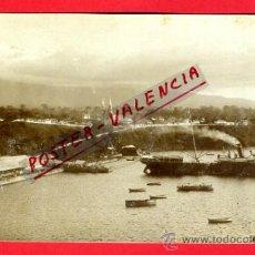 Postales: POSTAL FERNANDO POO, SANTA ISABEL, VISTA BARCO Y RIO , FOTOGRAFICA ,ORIGINAL, AF38. Lote 37769678