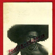 Postales: POSTAL FERNANDO POO, SANTA ISABEL, INDIGENA BUBI , FOTOGRAFICA ,ORIGINAL, AF43. Lote 37769772