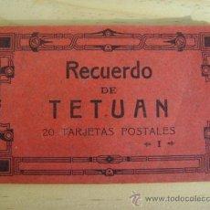 Postales: LIBRILLO O ESTUCHE 20 POSTALES ANTIGUAS, TETUÁN, HAUSER Y MENET.. Lote 38950760