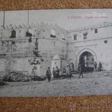 Postales: POSTAL CIRCULADA TETUÁN, ARRIBAS Nº 3, PUERTA DE LA REINA. 1914. Lote 39000561