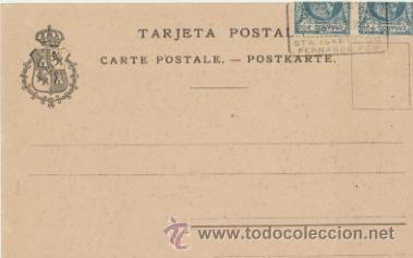 Postales: Fernando Póo.-Casa cuartel,Hospital Rª. Cristina, Casa de empleados civiles Santa I- - Foto 2 - 41260137