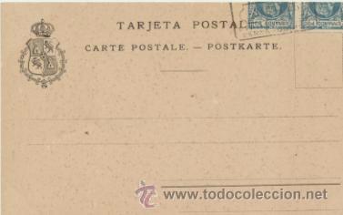 Postales: Fernando Póo.- El Rey de Rebola de recepción. Franqueado y fechado en 1905 con - Foto 2 - 41260435