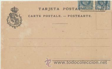 Postales: Fernando Póo.- Bahía de Santa Isabel. Franqueado y fechado en 1905 con doble E- - Foto 2 - 41260749