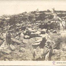 Postales: PS0027 1912 ALFONSO XIII - CAMPAÑA DE MARRUECOS - LA HARKA RIFEÑA EN LAS MONTAÑAS DEL GURUGÚ. Lote 52525147