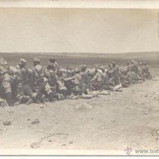 Postales: PS0025 1912 ALFONSO XIII - CAMPAÑA DE MARRUECOS - CAMPAMENTO DEL LAVADERO - FOTOGRÁFICA. Lote 41379981