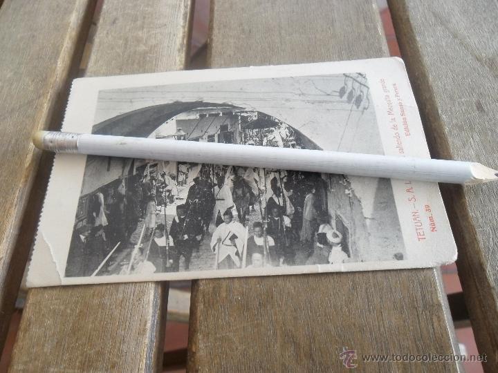POSTAL DE TETUAN EDICION SANSO Y PERERA EL JALIFA SALIENDO DE LA MEZQUITA GRANDE (Postales - Postales Temáticas - Ex Colonias y Protectorado Español)